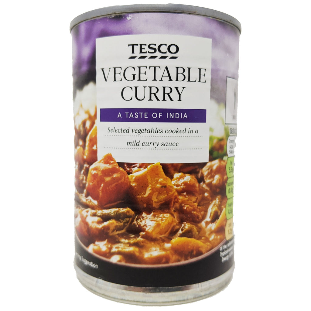 Tesco Vegetable Curry 400g - Blighty's British Store