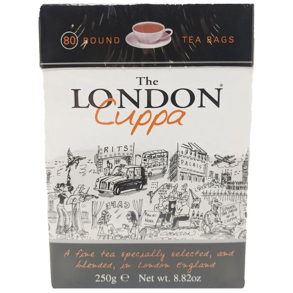 The London Cuppa Tea 80 Bags - Blighty's British Store