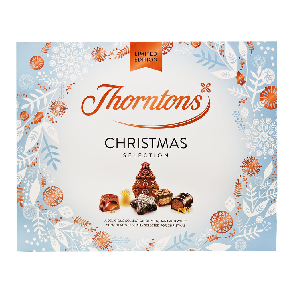 Thornton's Christmas Selection Box 367g - Blighty's British Store