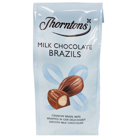 Thornton's Milk Chocolate Brazils 104g - Blighty's British Store