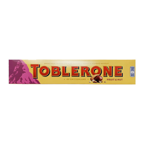 Toblerone Fruit & Nut 360g - Blighty's British Store
