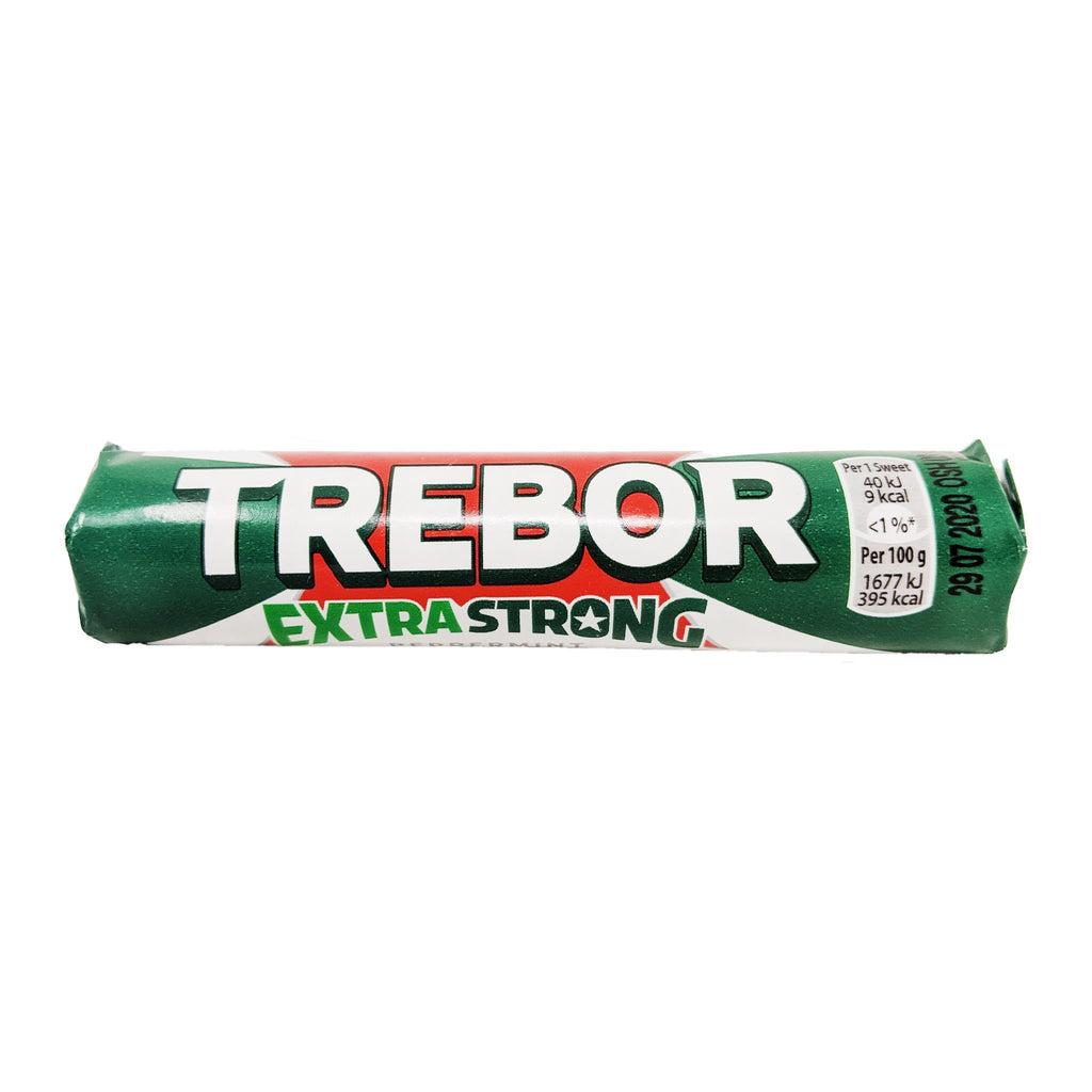 Trebor Extra Strong Peppermint 41.3g - Blighty's British Store