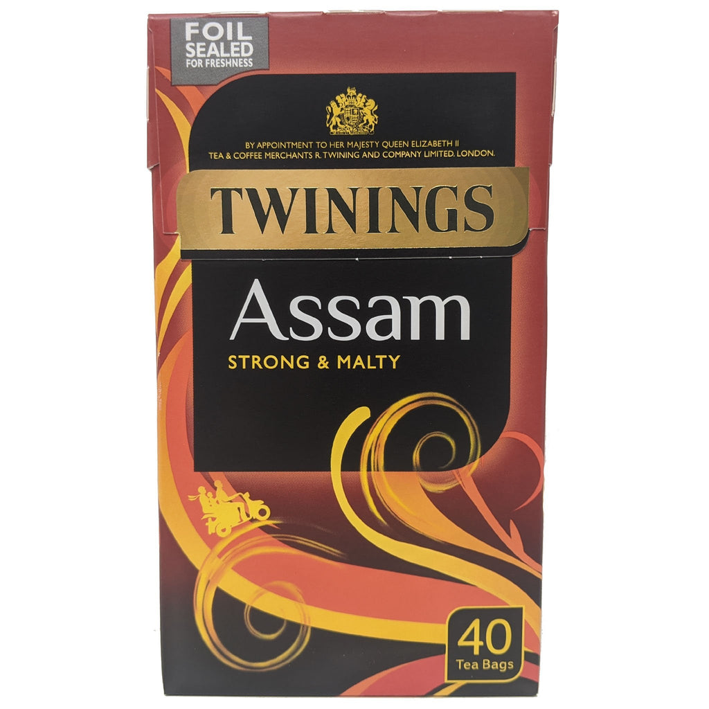 Twinings Assam Tea 40 Bags - Blighty's British Store