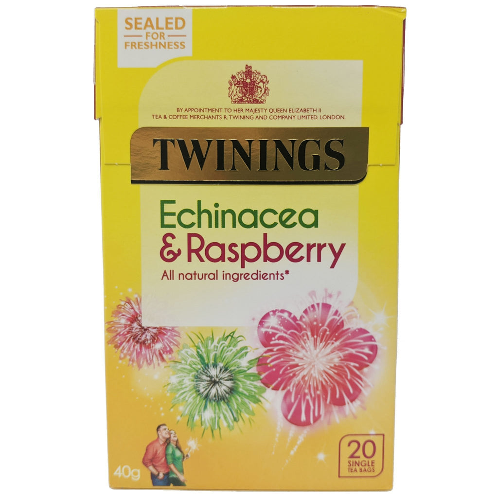 Twinings Echinacea & Raspberry Tea 20 Bags - Blighty's British Store