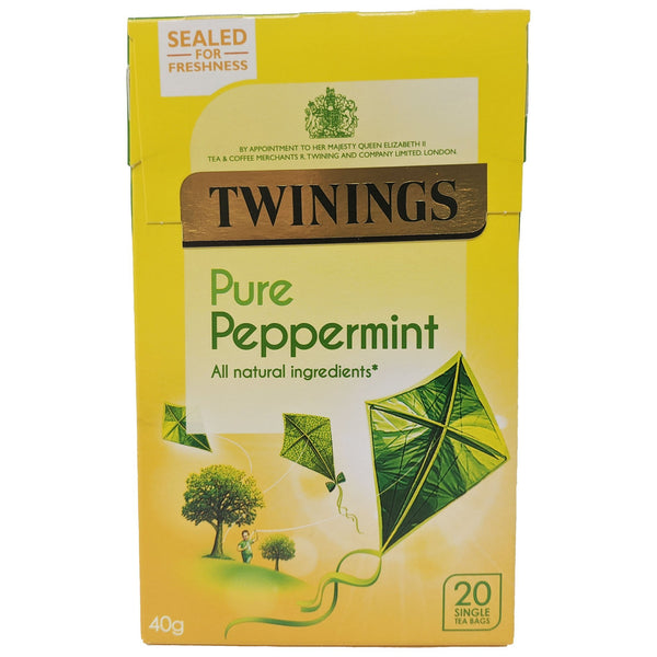 Twinings Pure Peppermint Tea 20 Bags - Blighty's British Store