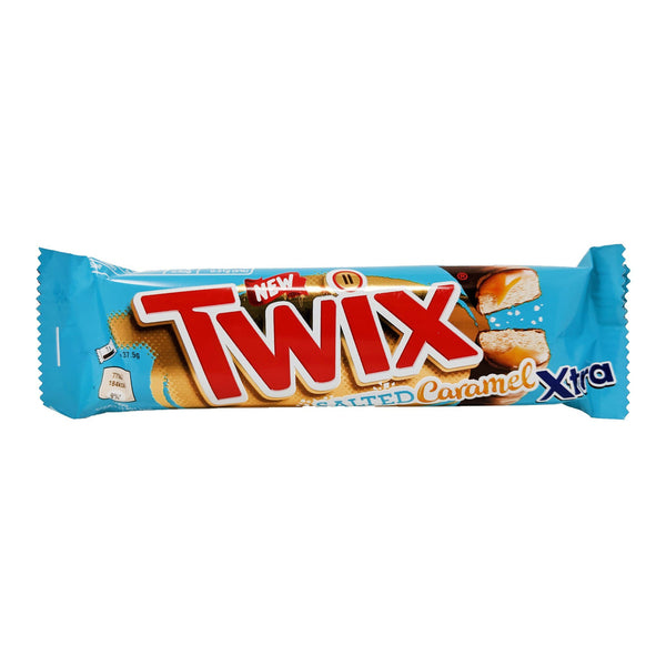 Twix Salted Caramel Xtra 75g - Blighty's British Store