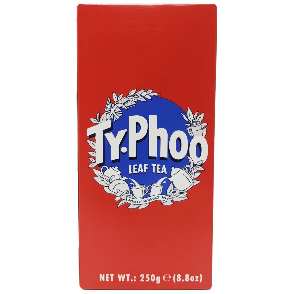 Typhoo Leaf Tea 250g - Blighty's British Store