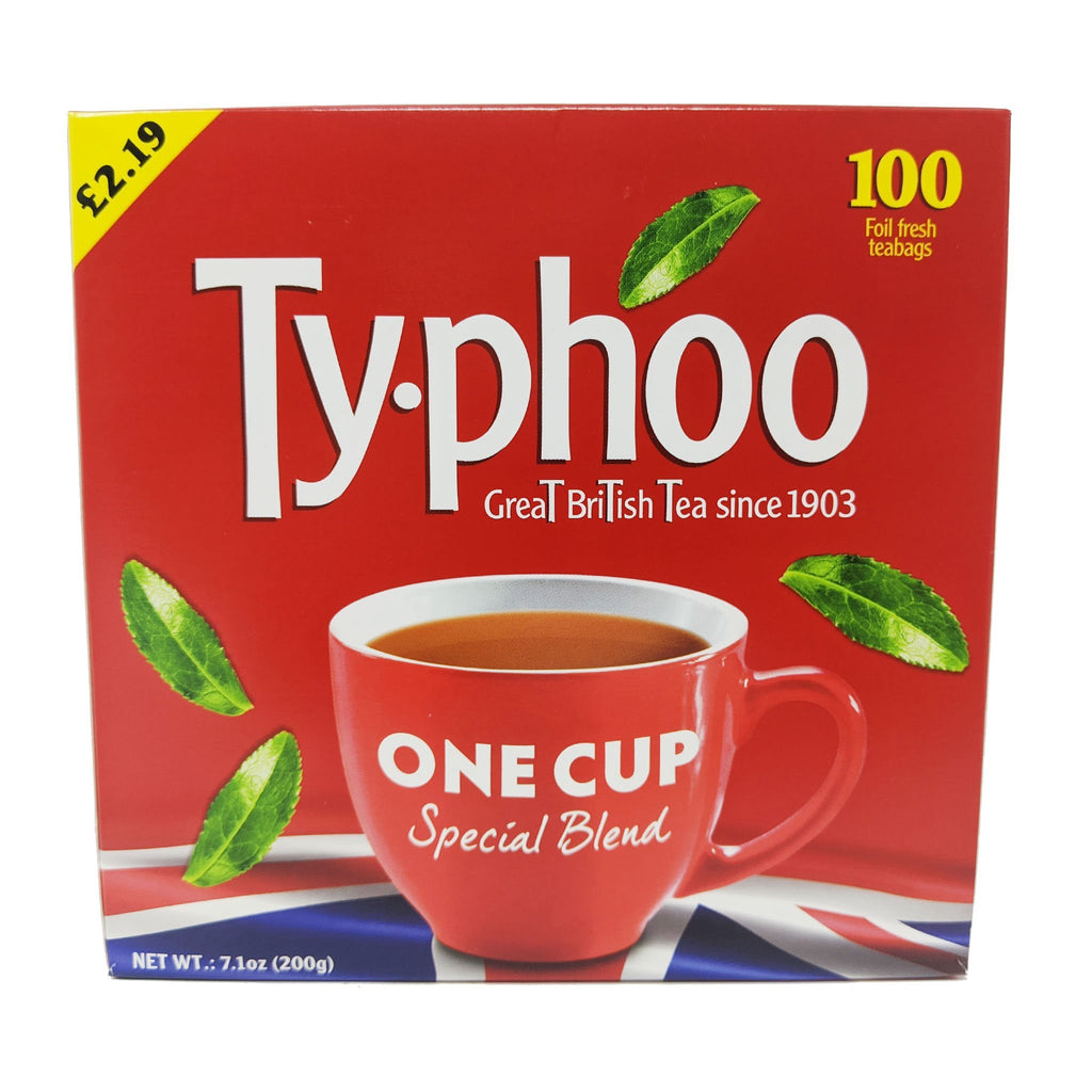 Typhoo Tea One Cup Special Blend 100 Bags - Blighty's British Store