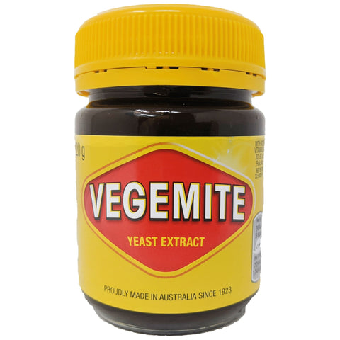 Vegemite Yeast Extract 220g - Blighty's British Store