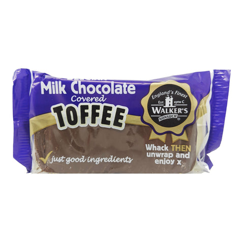 Walker's Milk Chocolate Covered Toffee 100g - Blighty's British Store