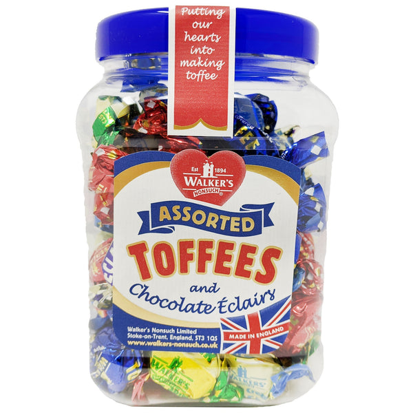 Walker's Nonsuch Assorted Toffees & Chocolate Eclairs 450g - Blighty's British Store