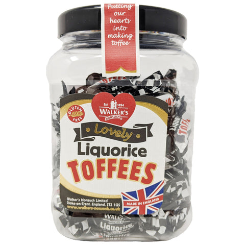 Walker's Nonsuch Liquorice Toffees 450g - Blighty's British Store
