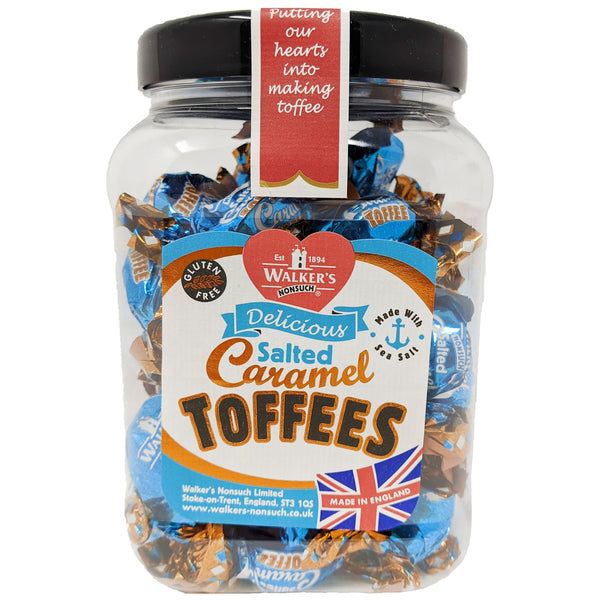 Walker's Nonsuch Salted Caramel Toffees 450g - Blighty's British Store