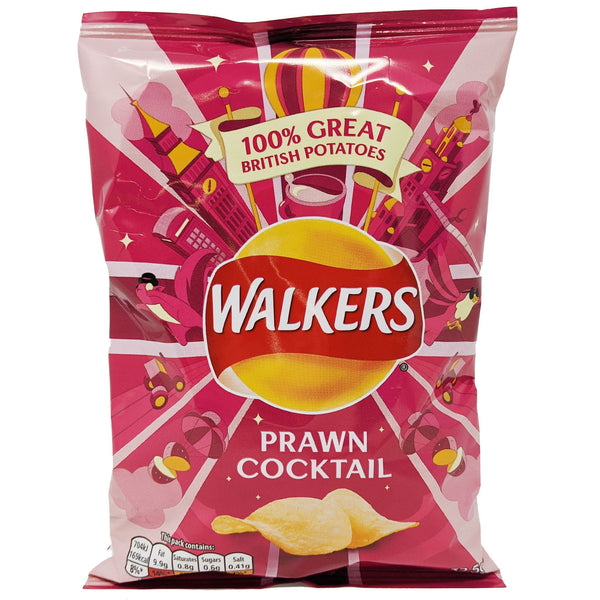 Walker's Prawn Cocktail 32.5g - Blighty's British Store