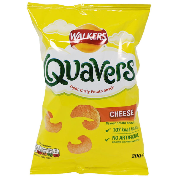 Walker's Quavers 20g - Blighty's British Store