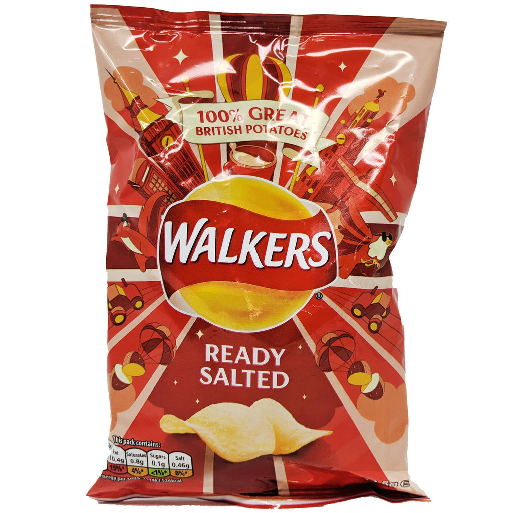 Walker's Ready Salted 32.5g - Blighty's British Store