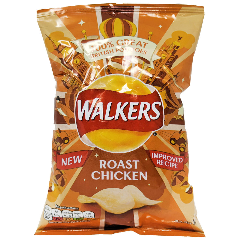 Walker's Roast Chicken 32.5g - Blighty's British Store