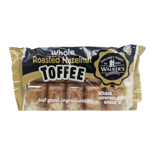 Walker's Roasted Hazelnut Toffee 100g - Blighty's British Store