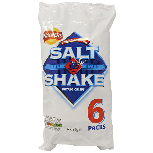 Walkers Salt & Shake 6 Pack (6 x 24g) - Blighty's British Store