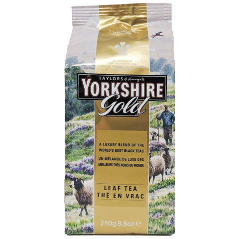Yorkshire Gold Leaf Tea 250g - Blighty's British Store