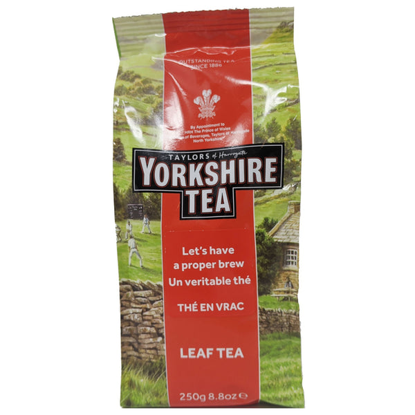 Yorkshire Leaf Tea 250g - Blighty's British Store