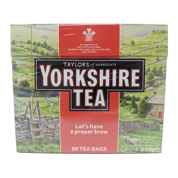 Yorkshire Tea 80 Bags - Blighty's British Store