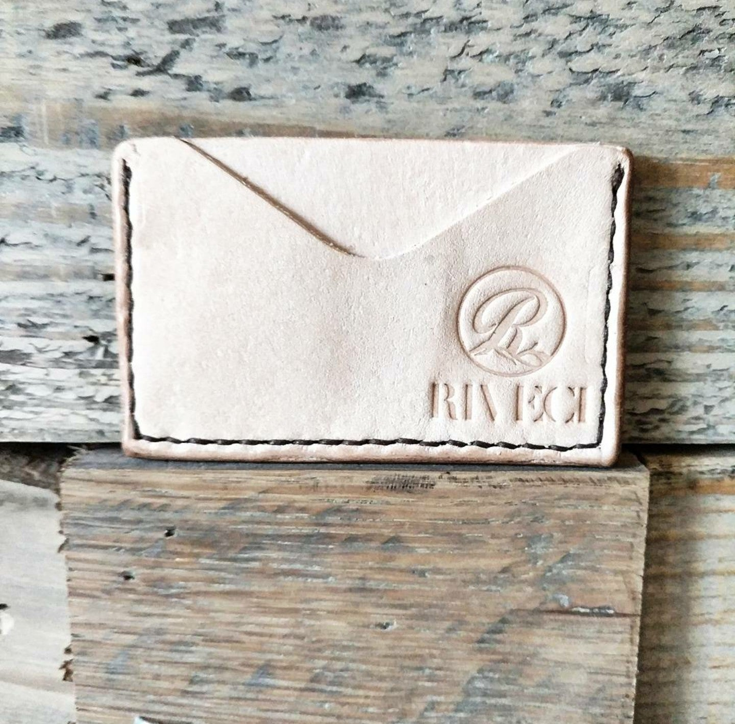 Horizontal Card Wallet - Natural