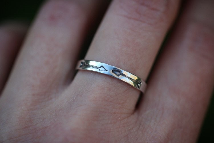 Arrow stacking ring US 8.5