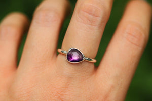amethyst ring US 7