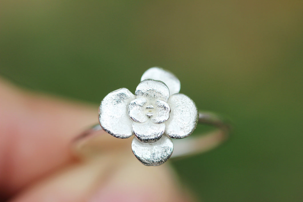 Succulent stacking ring US size 9.5