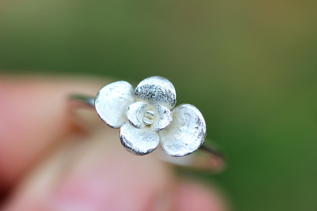 Succulent stacking ring US size 9