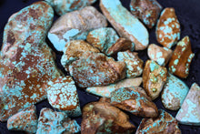 Natural #8 turquoise lot