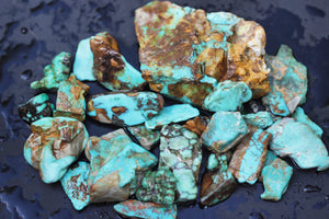 Natural turquoise bonanza turquoise lot