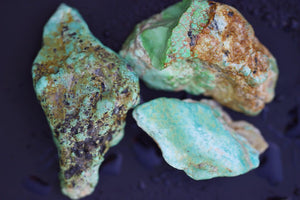 Natural turquoise unknown mine lot