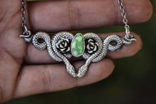 Made to order snake charmer necklace 1