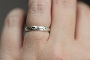 Arrow stacking ring US size 5