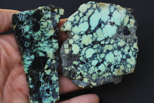 Natural apache turquoise/variscite lot