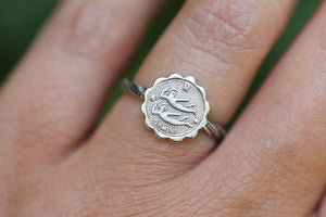 Made to order zodiac ring or necklace