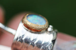 Mermaid keepsake vial