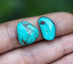 Bisbee turquoise cabochon #115