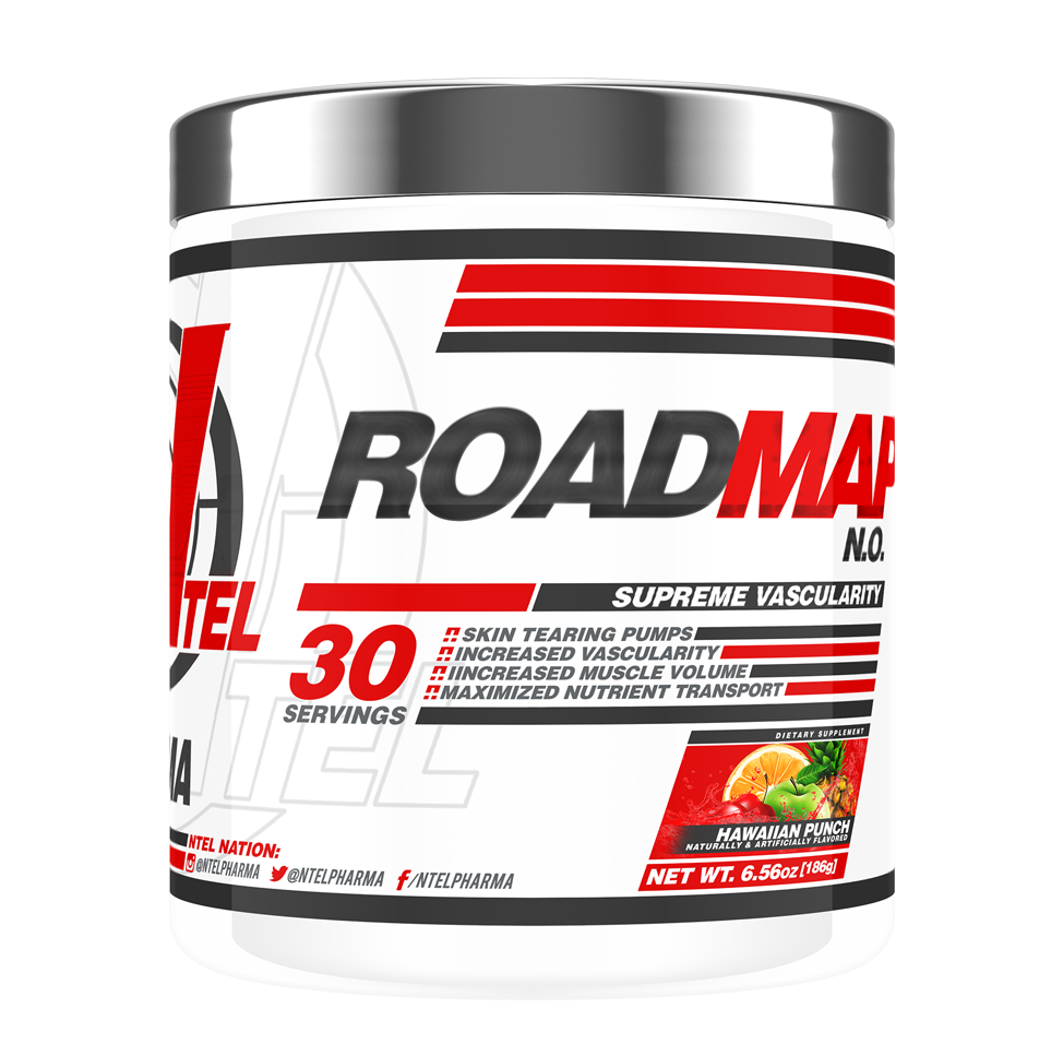 RoadMap N.O. - NTel Pharma  RoadMap N.O. Pre-Workout NTel Pharma Blackstone Labs Hardcore Military UFC GNC Landon Suggs Centurion