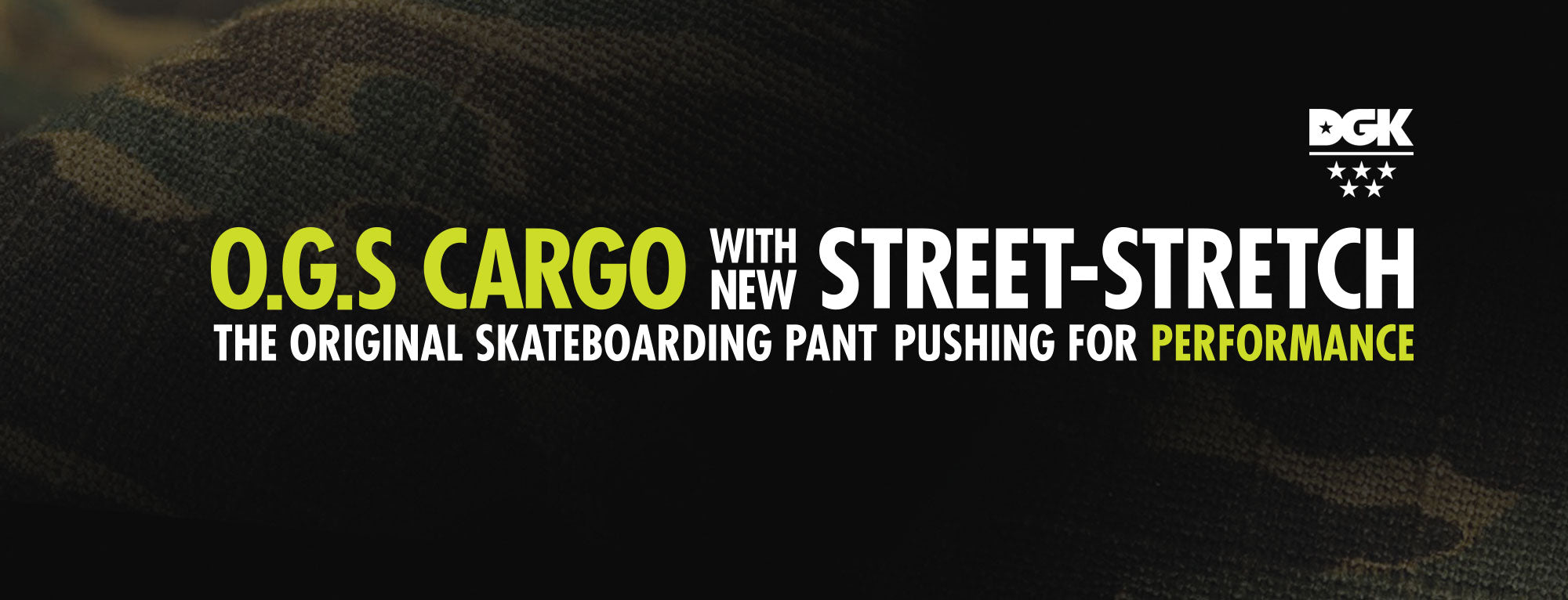 DGK O.G.S CARGO STREET-STRETCH PANTS