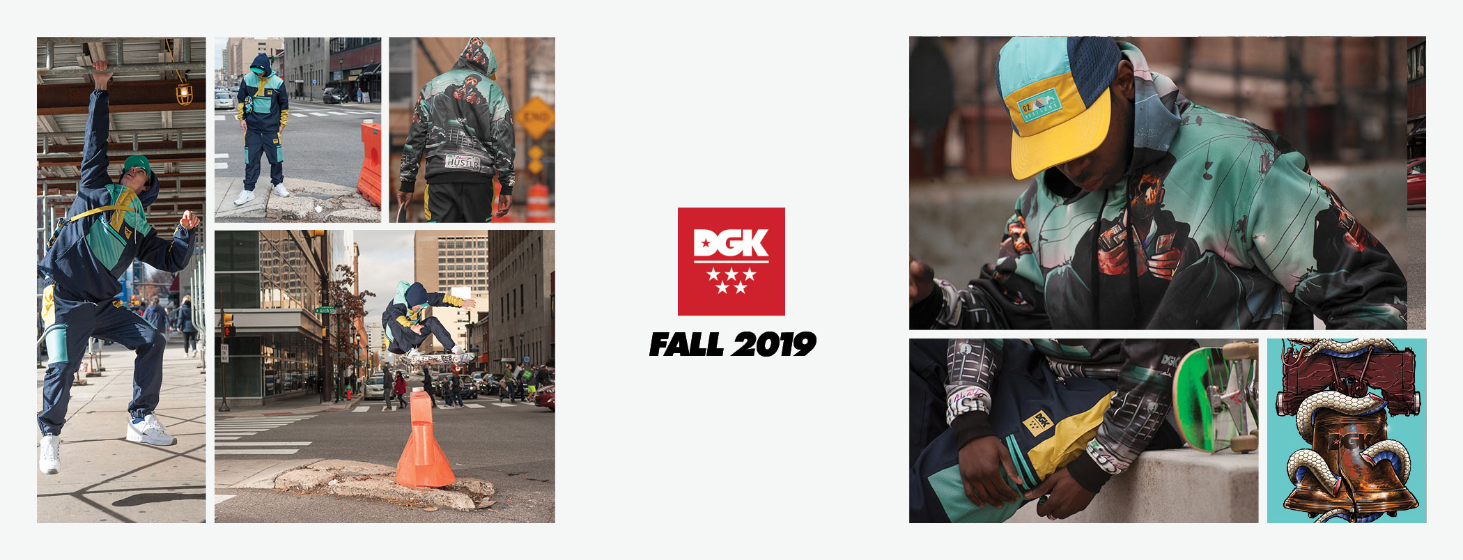 DGK Ruckus Collection Fall 2019