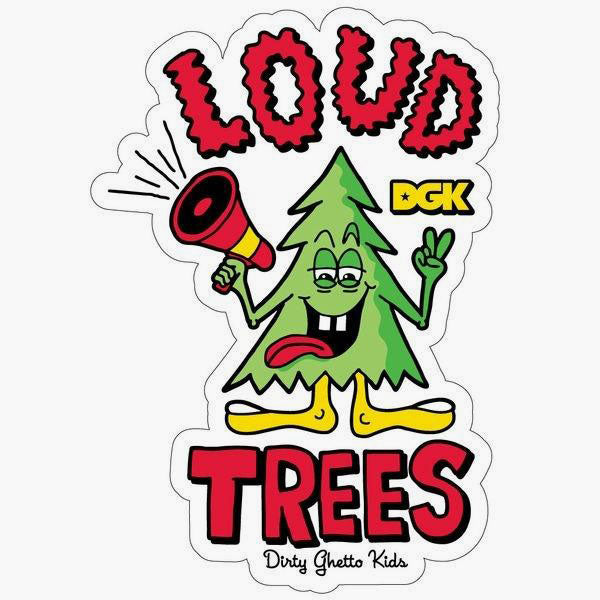 DGK Loud Trees Sticker