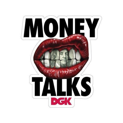 Money Talks Sticker