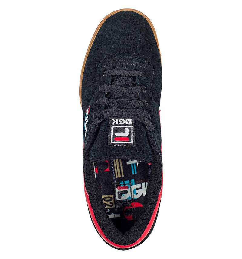 DGK Fila Shoes Black