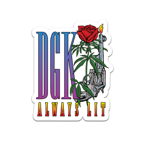 DGK Always Lit Sticker