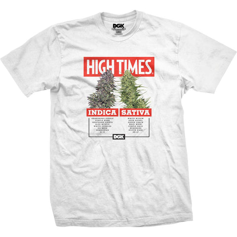 DGK x High Times Options T-Shirt White