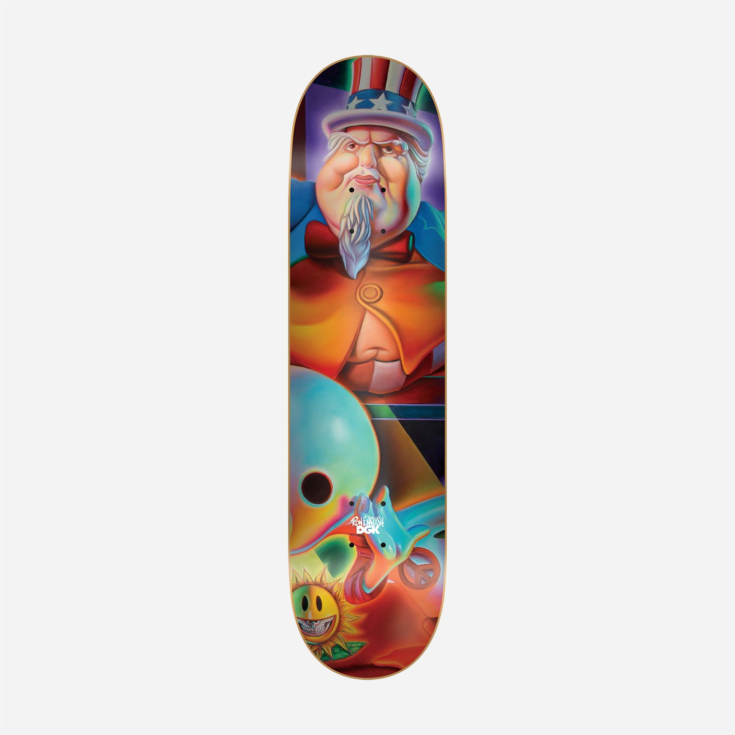 DGK x Ron English #5 Skateboard Deck