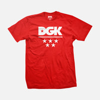DGK All Star T-Shirt Red